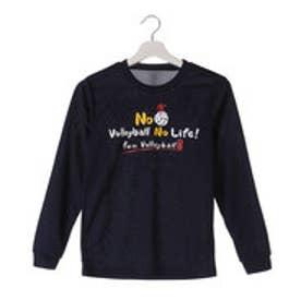 イグニオ IGNIO ジュニア バレーボール 長袖Tシャツ IG-8VW4526LT IG-8VW4526LT