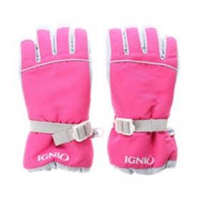 イグニオ IGNIO ジュニア スキー グローブ 6851050246 (ピンク)