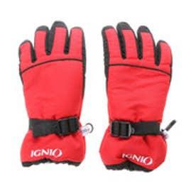 イグニオ IGNIO ジュニア スキー グローブ 6851050246 (レッド)