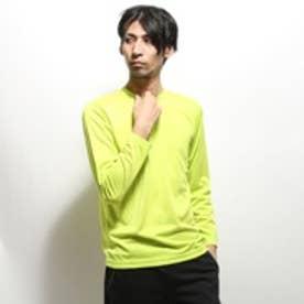 イグニオ IGNIO 長袖Tシャツ IG-9A16525TL グリーン (イエローグリーン)