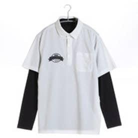 【アウトレット】イグニオ IGNIO ゴルフシャツ  IG-1L1016RYB ホワイト (ホワイト)