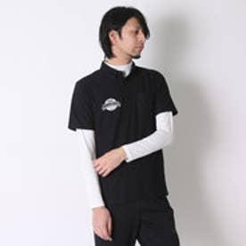 【アウトレット】イグニオ IGNIO ゴルフシャツ  IG-1L1016RYB ブラック (ブラック)