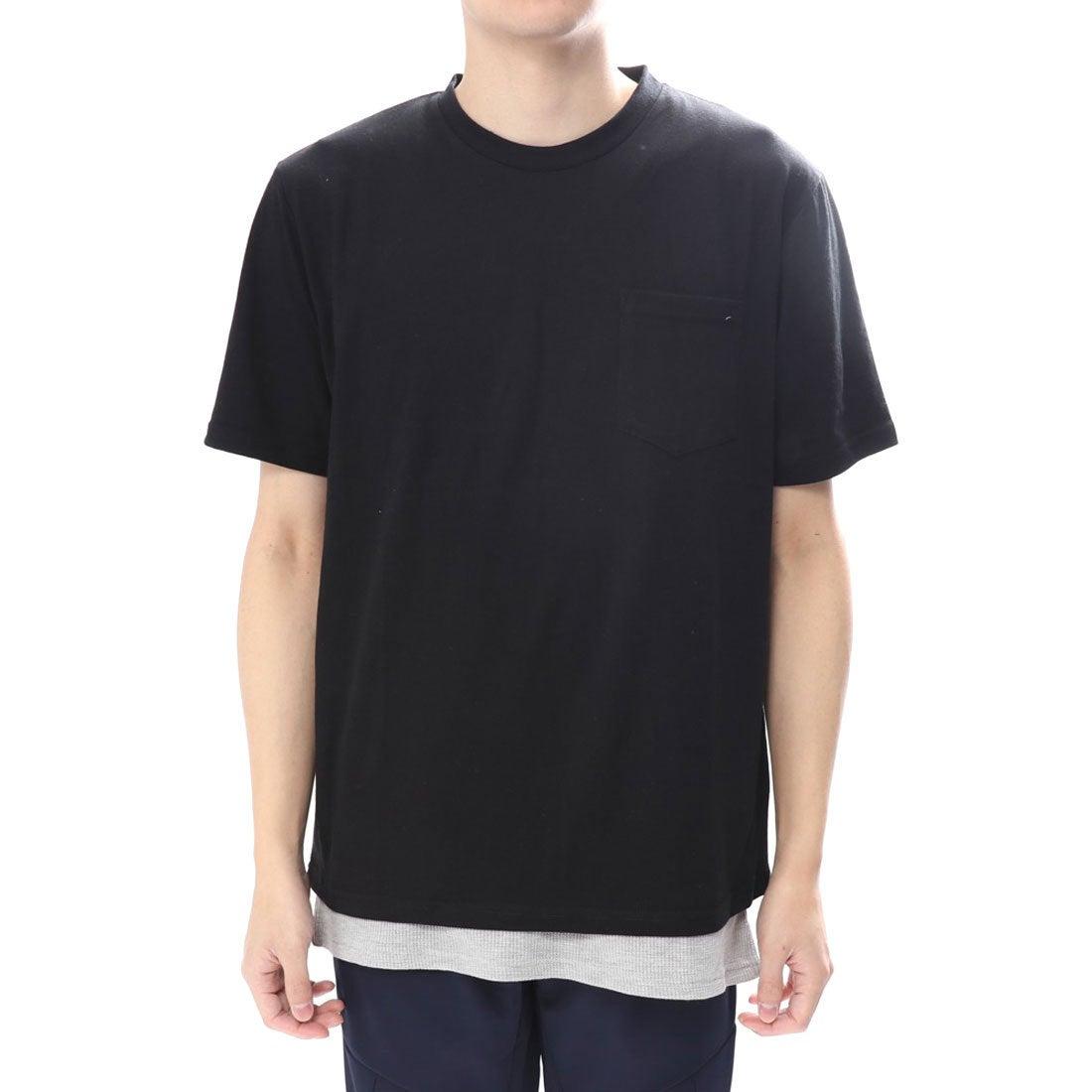 ロコンド 靴とファッションの通販サイトイグニオ IGNIO メンズ Tシャツ(半袖)xタンクトップセット