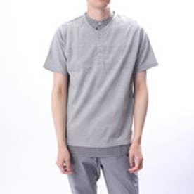 イグニオ IGNIO メンズ 半袖Tシャツ MレイヤードヘンリーTSS