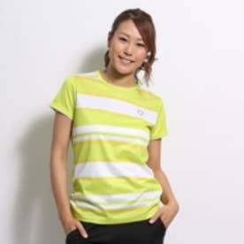 【アウトレット】イグニオ IGNIO テニスシャツ  2637025125 グリーン (イエローグリーン WH)