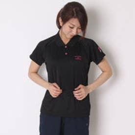 イグニオ IGNIO テニス用ポロシャツ  IG-2TW2026PSY ブラック (ブラック)