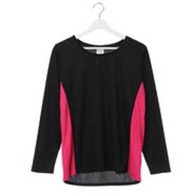イグニオ IGNIO レディース 長袖機能Tシャツ ゆったりサイズ IG-9A21577TLY