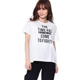 イグニオ IGNIO レディース 半袖 Tシャツ LCロゴAラインTSS