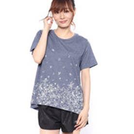イグニオ IGNIO レディース 半袖Tシャツ LTCフラワーAラインTSS2
