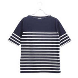 イグニオ IGNIO レディース 半袖Tシャツ IG-9C23098TSサキ (ネイビー)