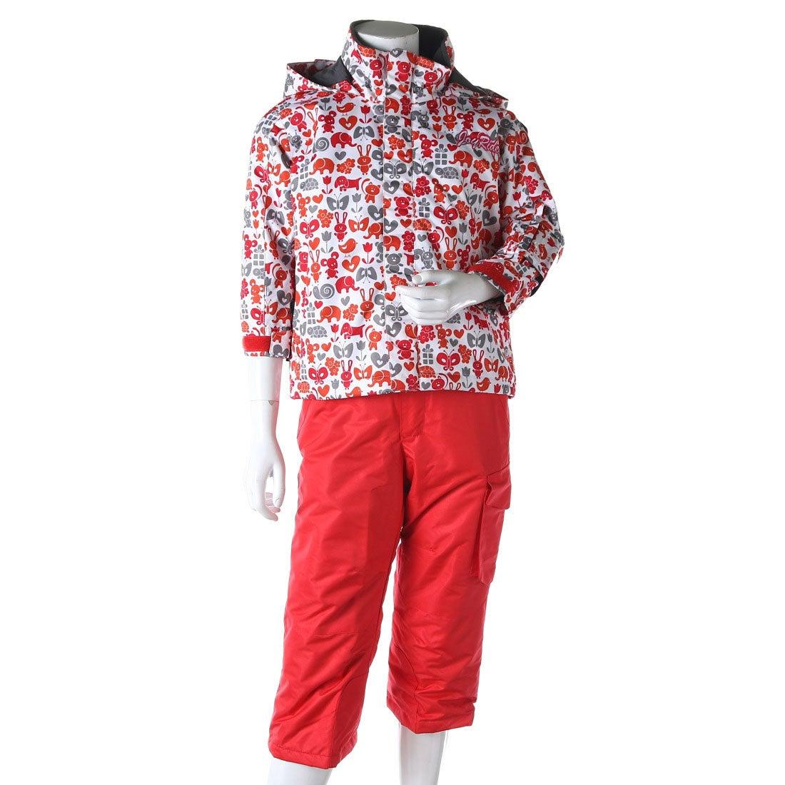 ロコンド 靴とファッションの通販サイトジョイライドJOYRIDEジュニアスキーウェア上下セットトドラースキーウェアーJOT-5311
