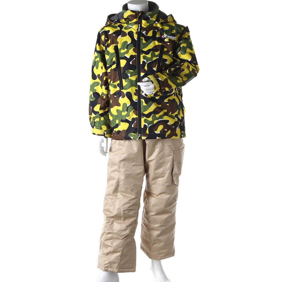 ロコンド 靴とファッションの通販サイトジョイライドJOYRIDEジュニアスキーウェア上下セットボーイズスキーウェアーJOB-3316
