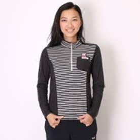 コルウィン Kolwin ゴルフシャツ KO-1L2575Z ブラック (ブラック)