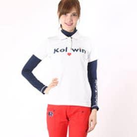 コルウィン Kolwin レディース ゴルフ セットシャツ KO-1L2556RYP