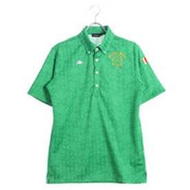 カッパ Kappa メンズ ゴルフ 半袖 シャツ ジャガード KG812SS47