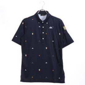 カッパ Kappa メンズ ゴルフ 半袖 シャツ 総柄 KG812SS51