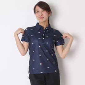 カッパ Kappa ゴルフシャツ 半袖シャツ(ITALIAモノグラム) KG622SS82 (ネイビー)