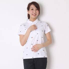 カッパ Kappa ゴルフシャツ 半袖シャツ(ITALIAモノグラム) KG622SS82 (ホワイト)