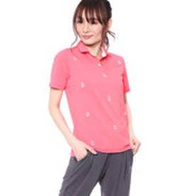 カッパ KAPPA レディース ゴルフ 半袖シャツ 半袖シャツ(総柄刺繍) KG822SS74