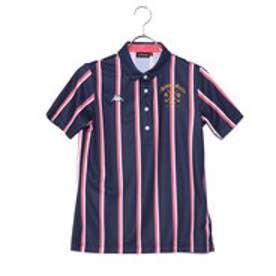 カッパ KAPPA レディース ゴルフ 半袖シャツ 半袖シャツ(レジメンタルストライプ) KG822SS71