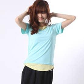 ケイパ kaepa レディース 半袖機能Tシャツ レイヤード半袖Tシャツ LCM17003A