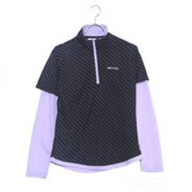 ケイパ kaepa レディース 長袖Tシャツ ケイパ レイヤードハーフジップTシャツ KPL23108A