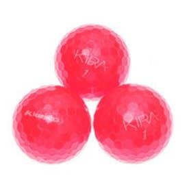 キャスコ kasco ゴルフ 公認球 キラクリスタル レッド 0003847011