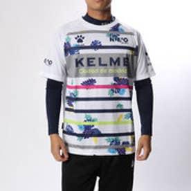 ケレメ KELME サッカー/フットサル レイヤードシャツ 半袖プラシャツ+インナー KA18F653
