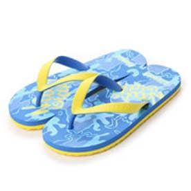 キスマーク kissmark ジュニアビーチサンダル KM4G406BL (ブルー)