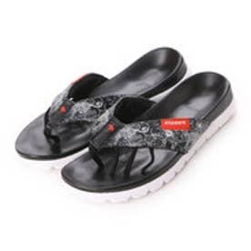 キスマーク kissmark サンダル KM-4G505 KM-4G505 ブラック (ブラック×ホワイト)