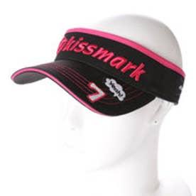キスマーク kissmark レディース ゴルフ サンバイザー KM-1C647SV