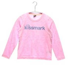【アウトレット】キスマーク kissmark ジュニアTシャツ KM-9B905TLG ピンク (ペールピンク)