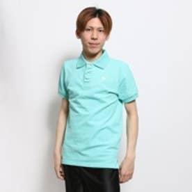キスマーク kissmark ポロシャツ KM-9F015SトリCL ブルー