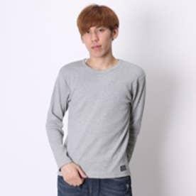 キスマーク kissmark Tシャツ KM-9A245STリブ グレー (グレー)
