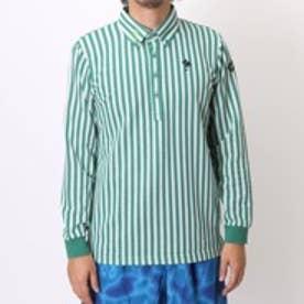 【アウトレット】キスマーク kissmark ゴルフシャツ KM-1L235B ホワイト (オフホワイトGR)