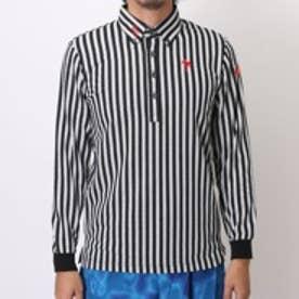 【アウトレット】キスマーク kissmark ゴルフシャツ KM-1L235B ホワイト (オフホワイトBK)