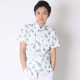【アウトレット】キスマーク kissmark ゴルフシャツ  KM-1H036B ホワイト (ホワイト)