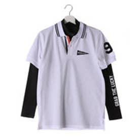 キスマーク kissmark メンズ ゴルフ セットシャツ KM-1L216RYP (ホワイト)