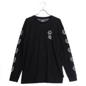 キスマーク kissmark メンズ 長袖Tシャツ KM-9A207DE (ブラック)