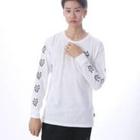 キスマーク kissmark メンズ 長袖Tシャツ KM-9A207DE (ホワイト)