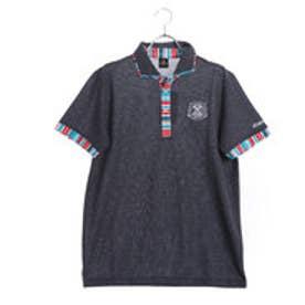 キスマーク kissmark メンズ ゴルフ 半袖シャツ ゆったりサイズ有り KM-1H1018P