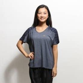 【アウトレット】キスマーク kissmark Tシャツ  KM-3I675 ルーズ ブルー (ロイヤルブルー)