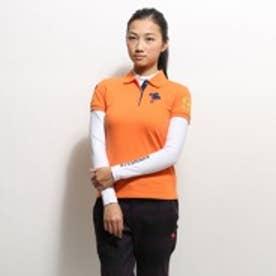 キスマーク kissmark ゴルフシャツ KM-1L2015RYP オレンジ (オレンジ)