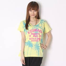キスマーク kissmark Tシャツ  KM-9A456パームツリー