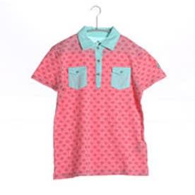 キスマーク kissmark ゴルフシャツ  KM-1H426P ピンク (ピンク)