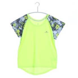 キスマーク kissmark ランニングTシャツ  KM-3I506 16SS (フラッシュイエロー)