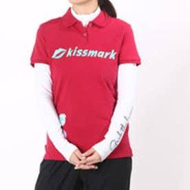 キスマーク kissmark レディース ゴルフ セットシャツ (長袖インナーシャツ&半袖シャツ) KM-1L606RYP