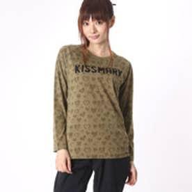 キスマーク kissmark レディース 長袖Tシャツ KM-9A606