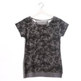 キスマーク kissmark レディース フィットネス 半袖Tシャツ KM-3I487 ヤシ