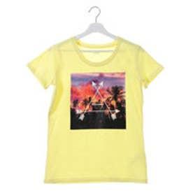 キスマーク kissmark レディース 半袖Tシャツ KM-9A417 SUNSET